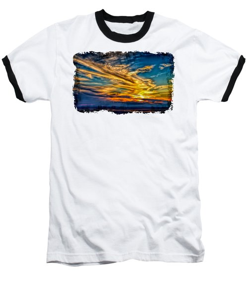 Golden Evening 2 Baseball T-Shirt