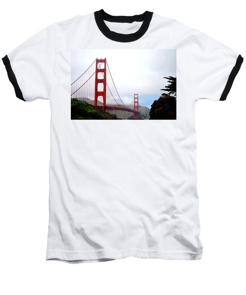 Golden Gate Bridge Full View Baseball T-Shirt