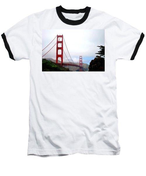 Golden Gate Bridge Full View Baseball T-Shirt