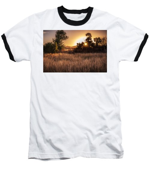 Golden Hour Baseball T-Shirt