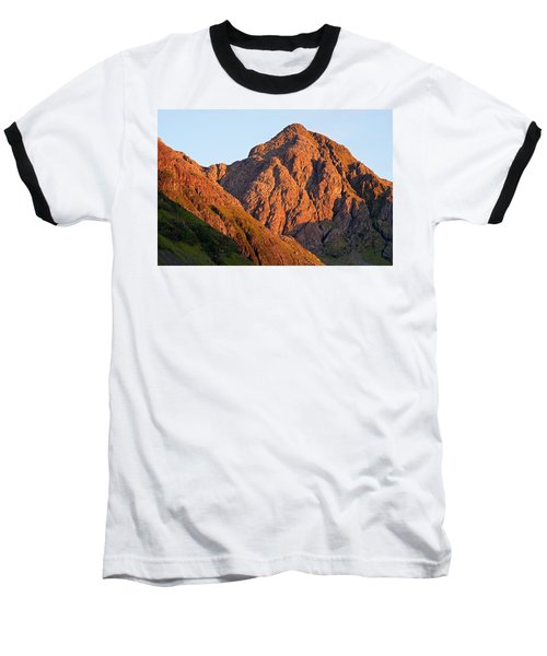 Golden Light Hits Bidean Nam Bian Baseball T-Shirt