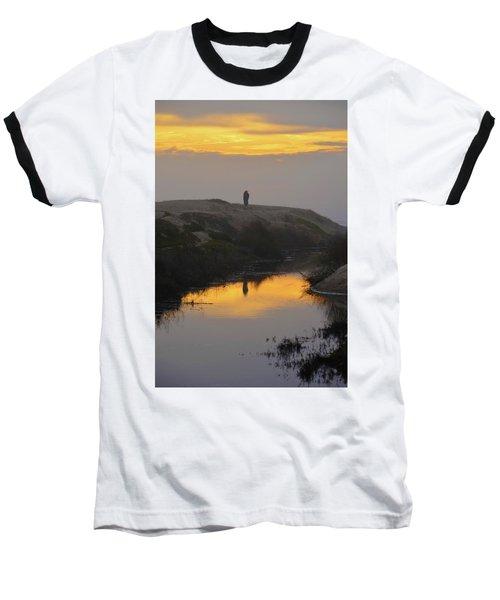 Golden Moments Baseball T-Shirt by Deprise Brescia