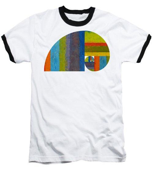 Golden Spiral Study Baseball T-Shirt by Michelle Calkins