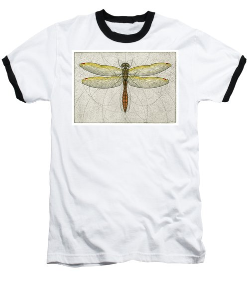 Golden Winged Skimmer Baseball T-Shirt