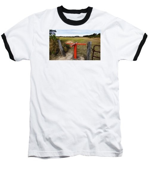 Baseball T-Shirt featuring the photograph Golf Range 01 by Kevin Chippindall