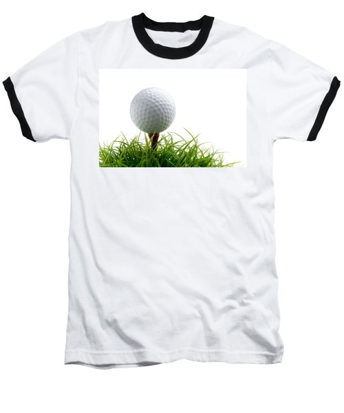 Golfball Baseball T-Shirt