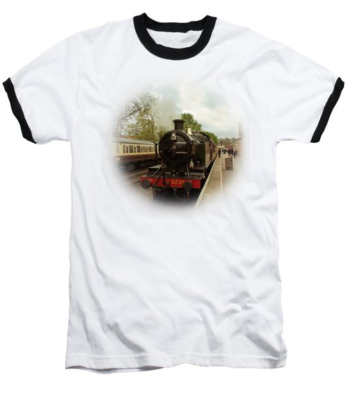 Goliath The Engine And Anna On Transparent Background Baseball T-Shirt by Terri Waters