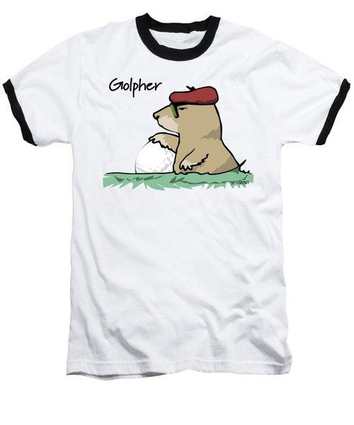 Golpher Baseball T-Shirt