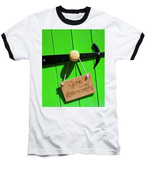 Gone Adventuring Baseball T-Shirt