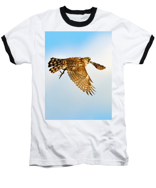 Good Hawk Hunting Baseball T-Shirt