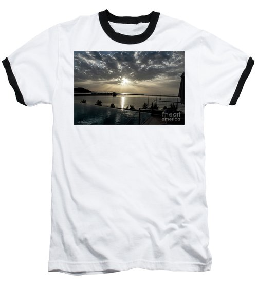 Good Morning Vacation Baseball T-Shirt by Arik Baltinester
