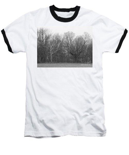 Good Vs Evil Trees Baseball T-Shirt