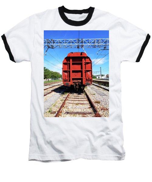Goods Wagon Baseball T-Shirt by Don Pedro De Gracia