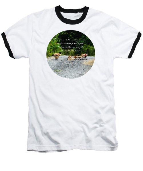 Goose Family - Verse Baseball T-Shirt