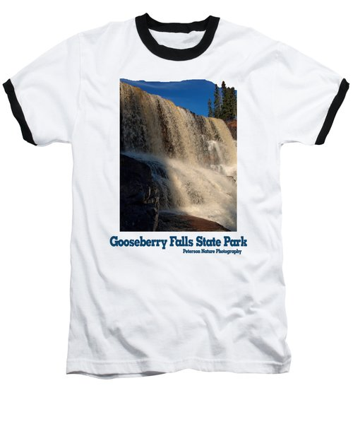 Gooseberry Falls Baseball T-Shirt by James Peterson