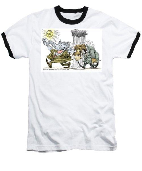 Gop Glee And Dem Doom Baseball T-Shirt