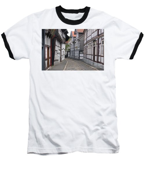 Goslar Old Town 3 Baseball T-Shirt by Rudi Prott