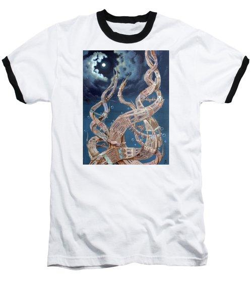 Gothic Genome Baseball T-Shirt