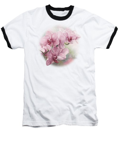 Graceful Orchids Baseball T-Shirt