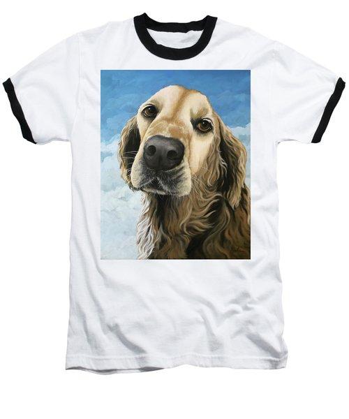 Gracie - Golden Retriever Dog Portrait Baseball T-Shirt