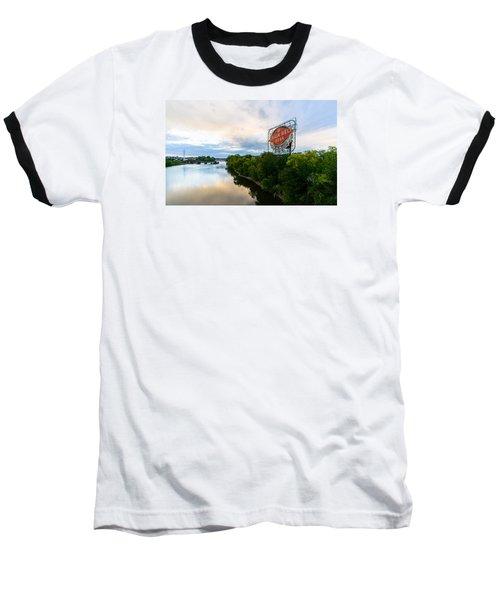 Grain Belt Beer Sign On River Baseball T-Shirt