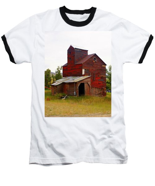 Grain Elevator Baseball T-Shirt