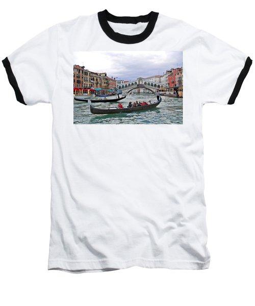 Grand Canal Scene  Baseball T-Shirt