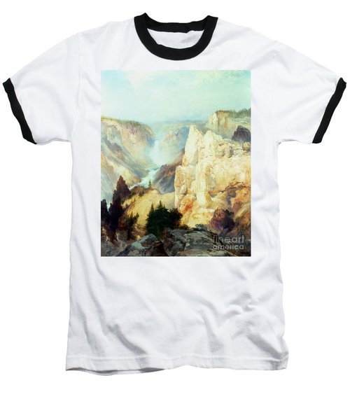 Grand Canyon Of The Yellowstone Park Baseball T-Shirt