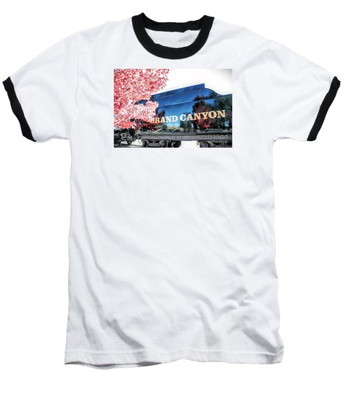 Grand Canyon Railroad Baseball T-Shirt
