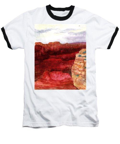 Grand Canyon S Rim Baseball T-Shirt