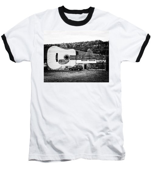 Baseball T-Shirt featuring the photograph Grand Guitar by Alan Raasch