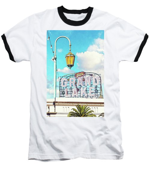 Grand Lake Merritt - Oakland, California Baseball T-Shirt