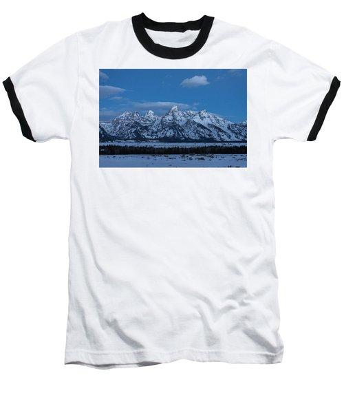 Grand Teton National Park Sunrise Baseball T-Shirt