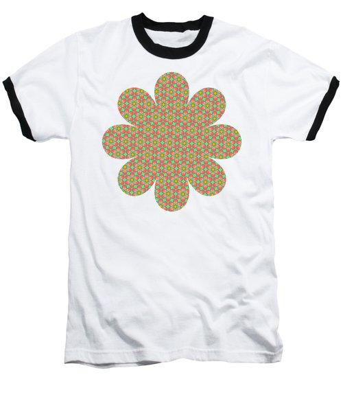 Grandma's Flowers Baseball T-Shirt