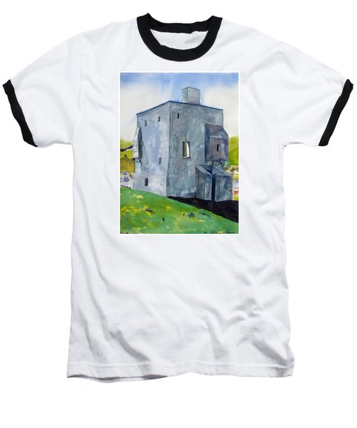 Granuaile's Castle Behind The Hill Baseball T-Shirt