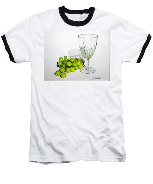 Grapes And Crystal Baseball T-Shirt