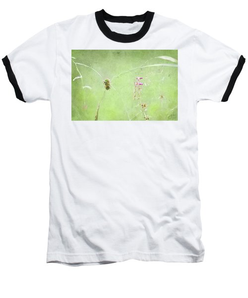 Grasses And Blooms Baseball T-Shirt