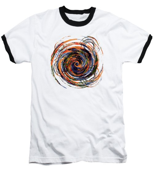 Gravity In Color Baseball T-Shirt