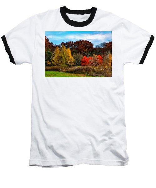 Great Brook Farm Autumn Baseball T-Shirt