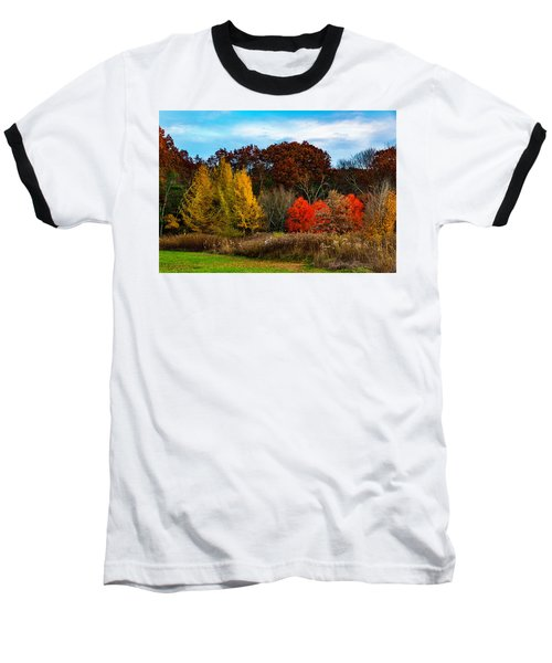 Great Brook Farm Autumn Baseball T-Shirt