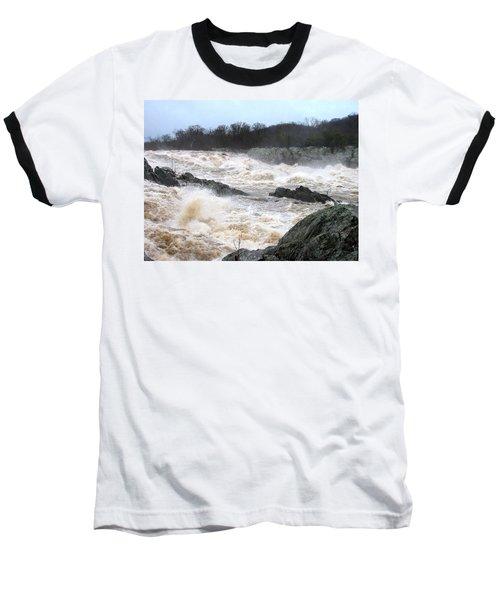 Great Falls Torrent Baseball T-Shirt