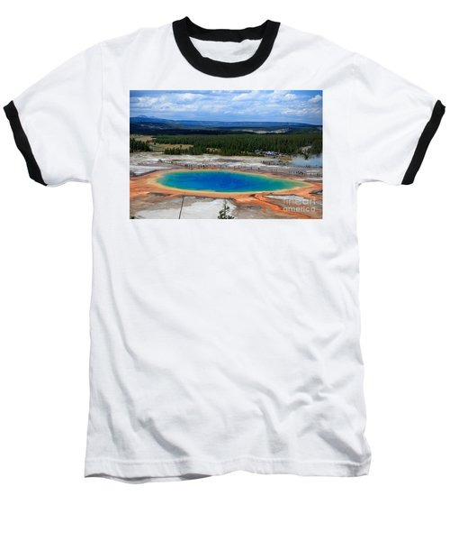 Great Prismatic Spring   Baseball T-Shirt