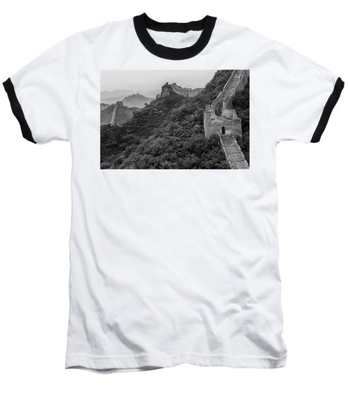 Great Wall 3, Jinshanling, 2016 Baseball T-Shirt by Hitendra SINKAR