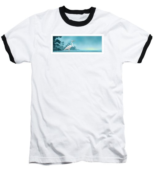 Great White Baseball T-Shirt