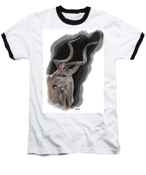 Greater Kudu Baseball T-Shirt