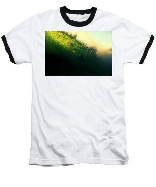 Green And Black Baseball T-Shirt