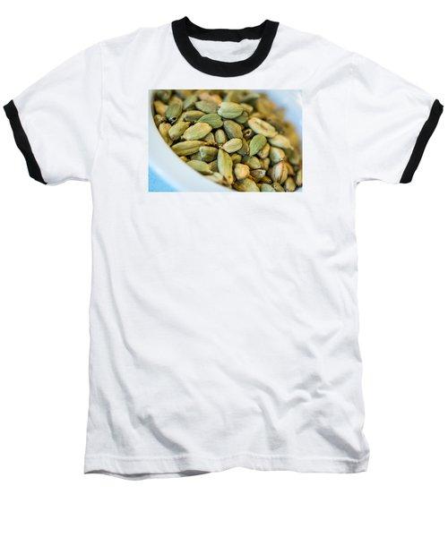 Green Cardamom  Baseball T-Shirt
