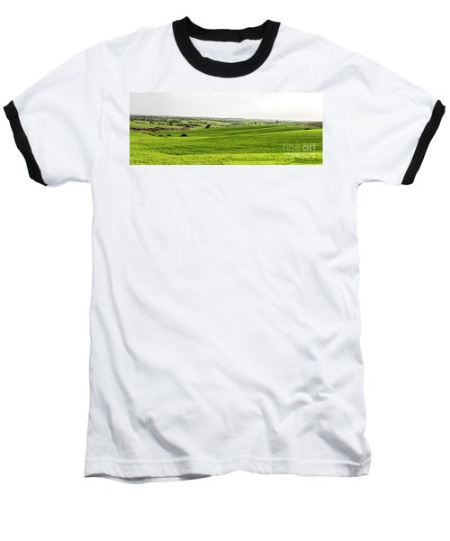 Green Fields. Baseball T-Shirt
