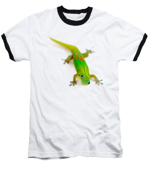 Green Gecko Baseball T-Shirt