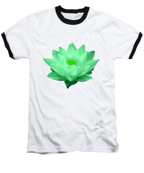 Baseball T-Shirt featuring the photograph Green Lily Blossom by Shane Bechler
